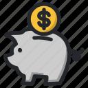 bank, business, deposit, finance, management, money, piggy
