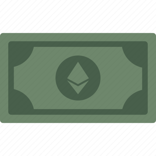 cash, currency, ether, ethereum, money icon