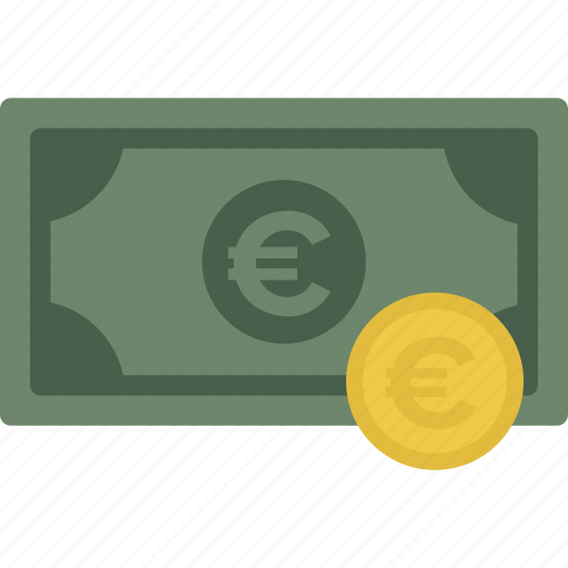 Cash, coin, currency, euro, money icon - Download on Iconfinder