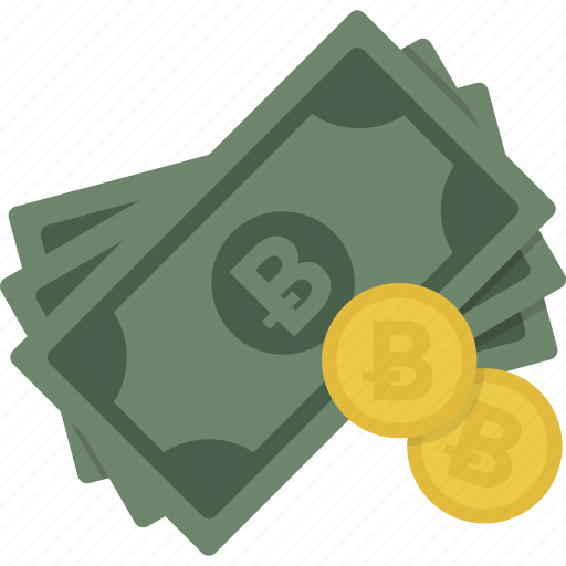 bitcoin, cash, coin, coins, currency, money icon
