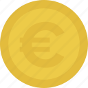 cash, coin, euro, money icon