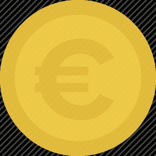 cash, coin, euro, money icon