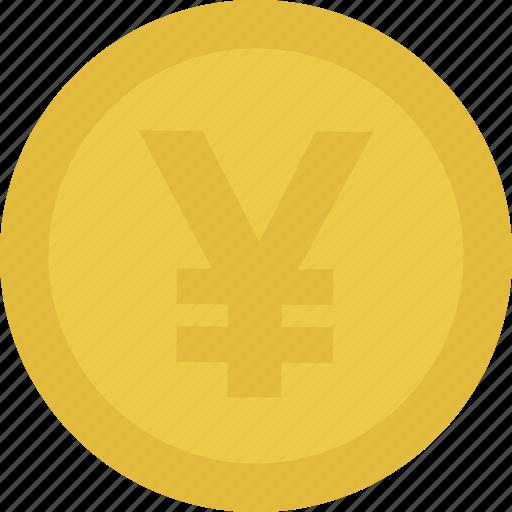 Cash, coin, money, yen icon - Download on Iconfinder