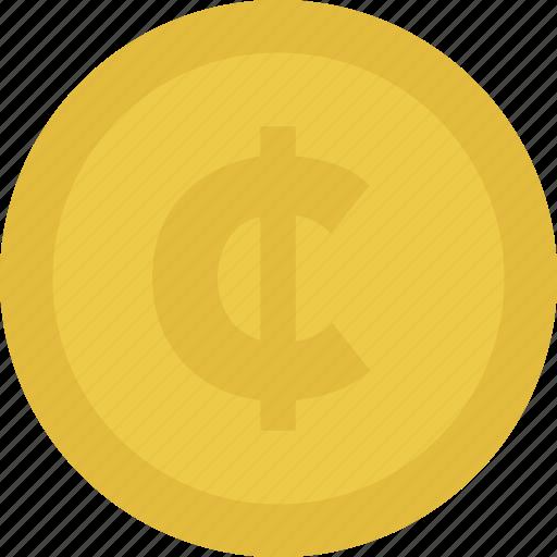 cash, cent, coin, money icon