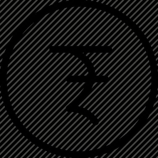coin, finance, rupee icon