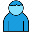 bank, cash, currency, finance, man, money, people icon
