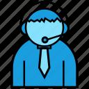 consultant, operator, support icon