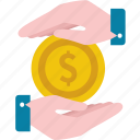 coin, currency, finance, income, money, price, value icon