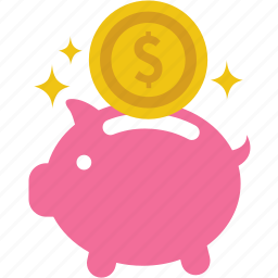 bank, cash, economizing, insurance, moneybox, saving icon