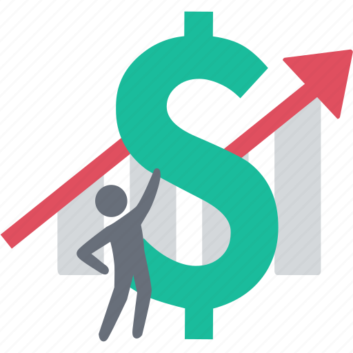 analytics, finance, gain profit, growth, increase, interest, stock icon