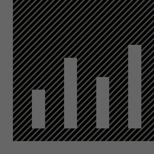 analysis, analytics, bar, chart, graph, math, statistics icon