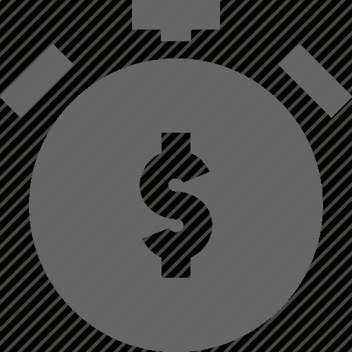 alarm, alert, banking, finance, money, time, timepiece icon