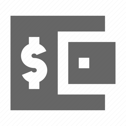 account, balance, dollar, money, purse, shopping, wallet icon