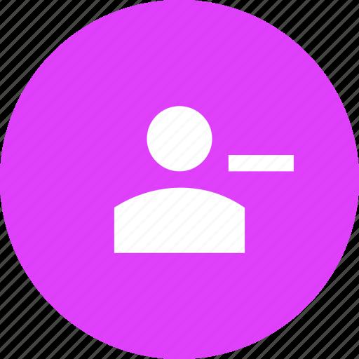 account, clear, customer, delete, profile, remove, user icon