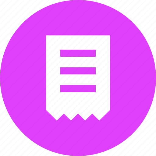 bill, invoice, purchase, shopping, statement icon