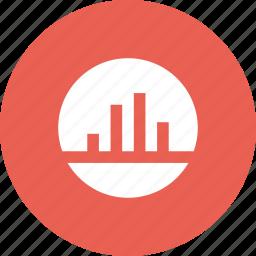 analysis, analytics, bar, chart, graph, statistics icon