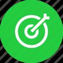 aim, bullseye, dart, goal, hit, target icon