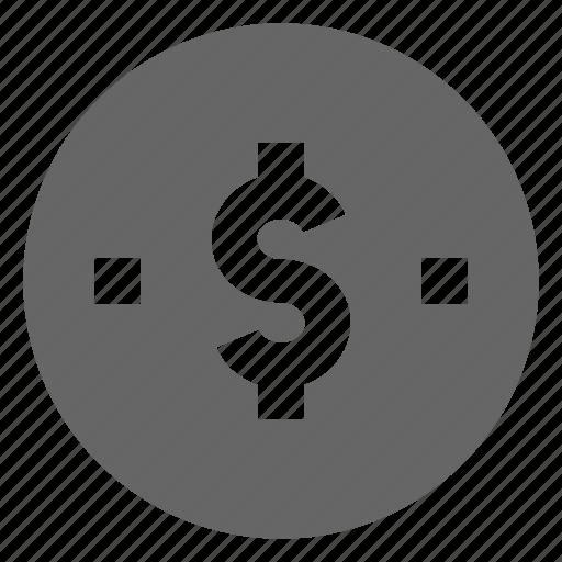 coin, dime, dollar, money, penny icon