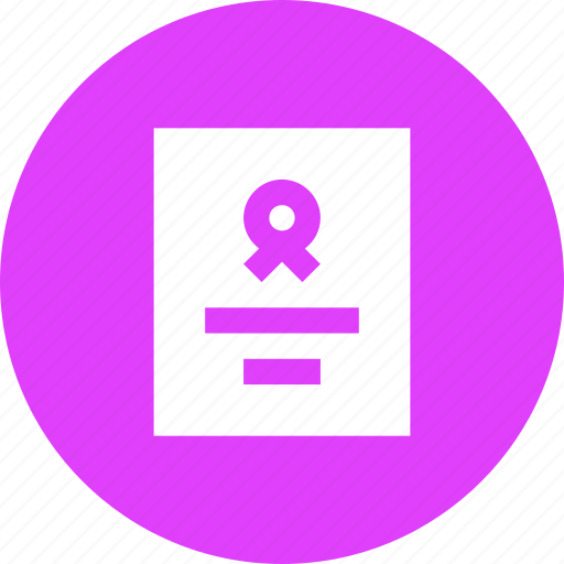 agreement, certificate, contract, document, guarantee, merit, standard icon