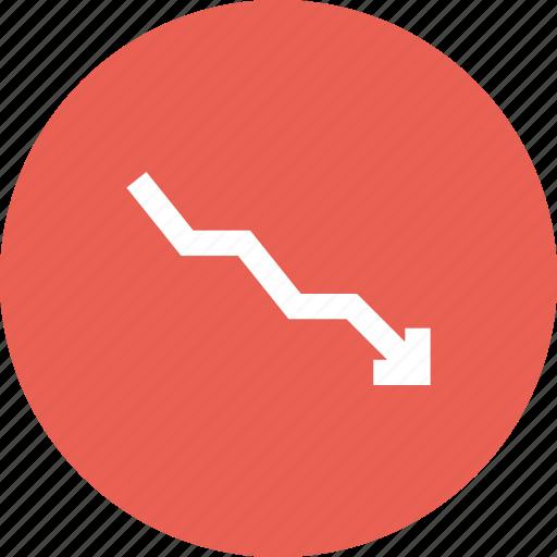 arrow, demonetisation, demonetization, legal, money, tender, termination icon