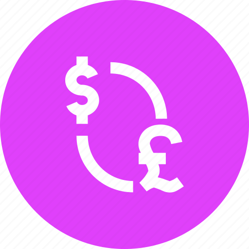 conversion, currency, dollar, exchange, foreign, pound icon