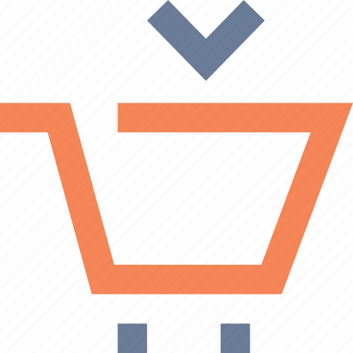 account, add, bag, cart, import, online, shopping icon