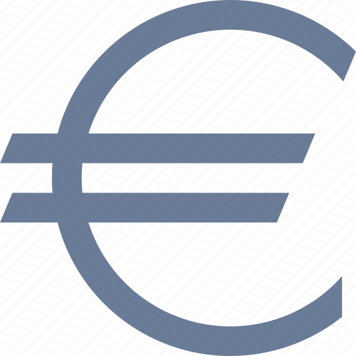 currency, euro icon
