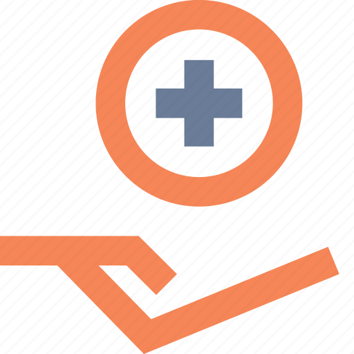 care, help, insurance, loan, medical, receive, support icon