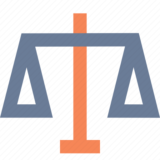 balance, commerce, equal, justice, scale, trade, weigh icon