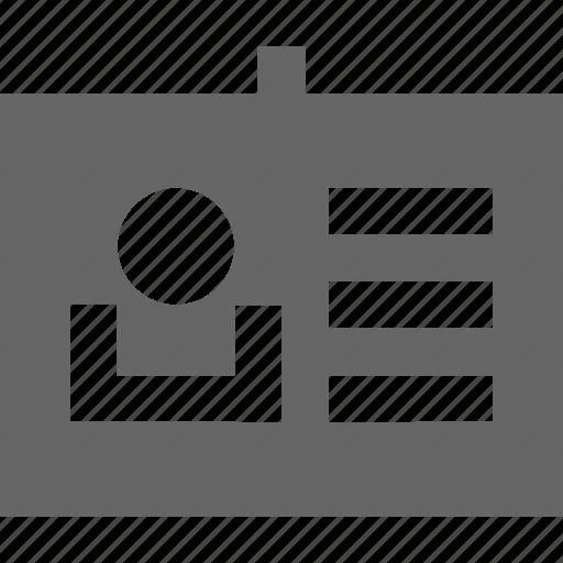 customer, employee, id, identity, tag, user icon