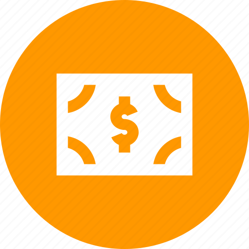 amount, bill, cash, currency, dollar, note icon