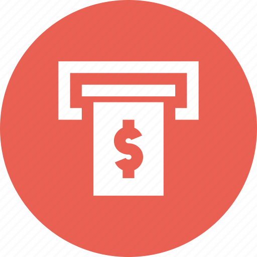 Atm, banking, cash, cashpoint, debit, dollar, withdrawl icon - Download on Iconfinder