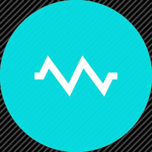 activity, graph, notification, pulse icon