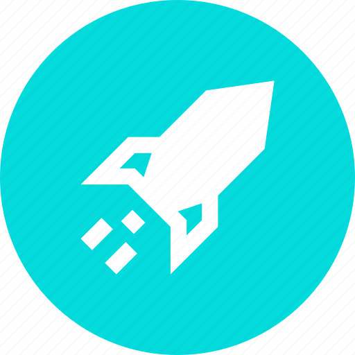 business, high, launch, profit, rocket, sales icon