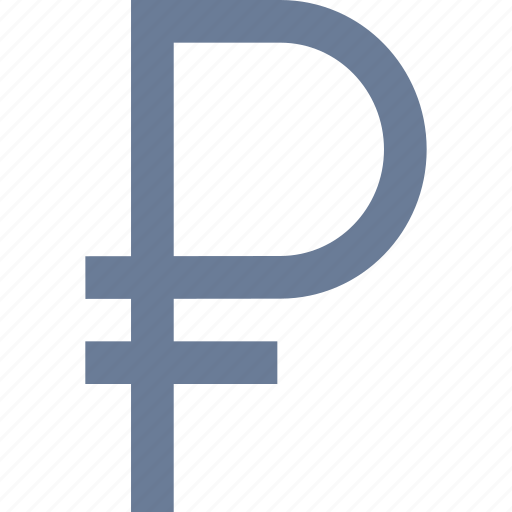 currency, ruble, russian icon