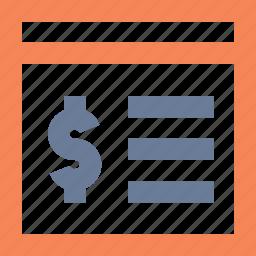 app, banking, finance, portal, report, window icon