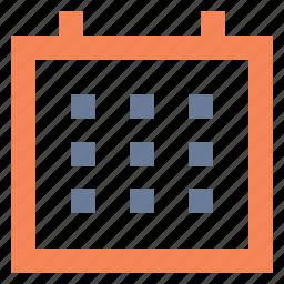 calendar, date, plan, planner, schedule icon