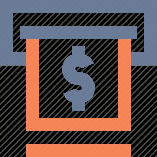 atm, banking, cash, cashpoint, debit, dollar, withdrawl icon