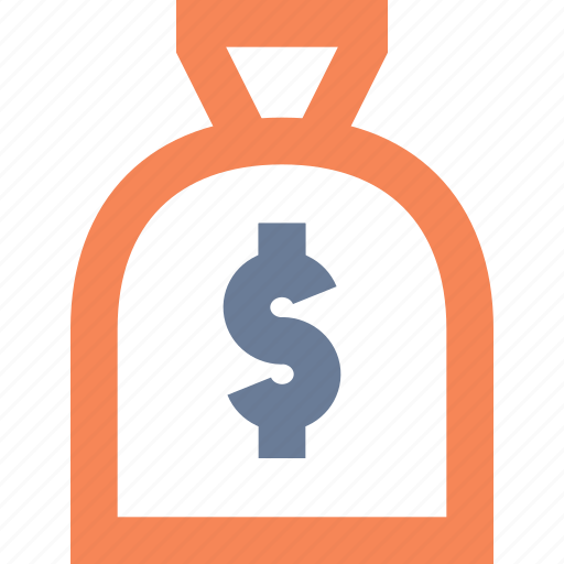 amount, bag, cash, gift, prize, reward icon