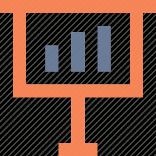 analysis, analytics, chart, powerpoint, presentation, sales, statistics icon