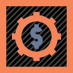 bank, lock, locker, money, safe, security, vault icon