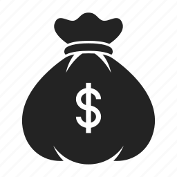 bag, investment, money icon