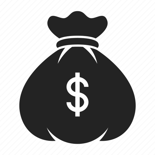 bag, investment, money icon