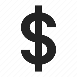 coin, dollar, sign icon