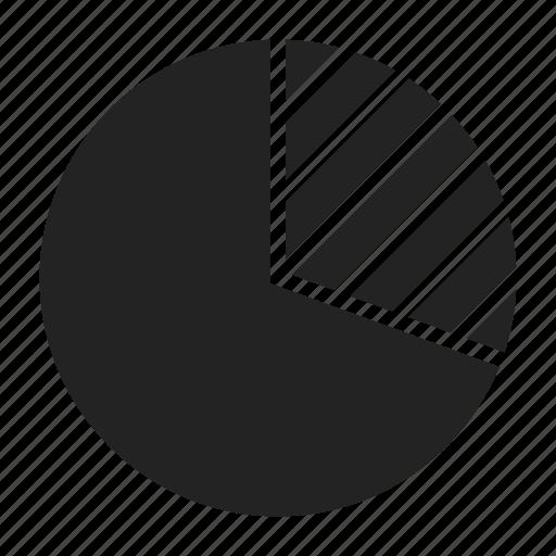 chart, diagram, pie icon