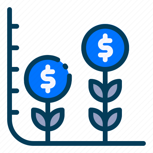 Accounting, banking, business, finance, growth, interest rate, investment icon - Download on Iconfinder