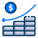 accounting, analytics, banking, business, decrease, finance, loss