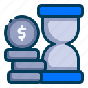 accounting, banking, business, finance, hourglass, time is money, time management