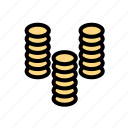 bank, coin, credit, finance, financial, investment, money icon