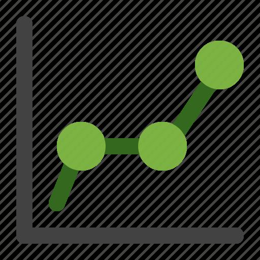 chart, economic, finance, line, statistics icon